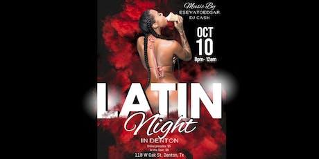 Latin Night In Denton tickets