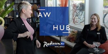 AW Hub 4/10 - en afterwork för nätverkssugna tickets