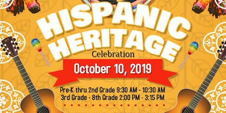 WJEC PERFORMING ARTS DEPT. PRESENTS HISPANIC HERITAGE CELEBRATION 2019 tickets