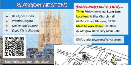 Glasgow West End English Corner tickets