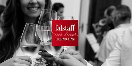 Falstaff on tour: Weingala im Casino Linz Tickets