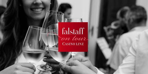 Falstaff on tour: Weingala im Casino Linz