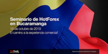 Evento de HotForex en Bucaramanga entradas