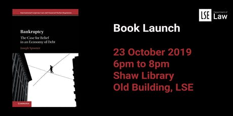 Book Launch - Bankruptcy: the Case for Relief in an Economy of Debt tickets
