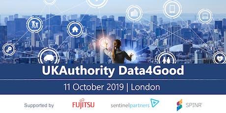 UKAuthority Data4Good 2019 tickets