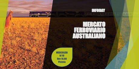 INFODAY MERCATO FERROVIARIO AUSTRALIANO biglietti