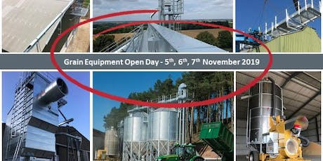 Grain Drying, Storage and Processing Open Day tickets