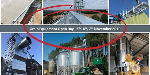Grain Drying, Storage and Processing Open Day