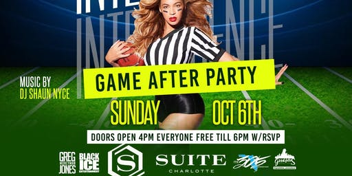 SUNDAY GAMEDAY AFTERPARTY AT SUITE