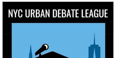 UDL MS Tournament #1 Public Forum Debate Workshop Sign Up!  tickets