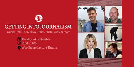 Getting into journalism w/ Sunday Times Magazine, Bristol Cable and more tickets