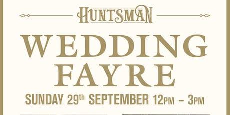 The Huntsman Inn Wedding Fayre tickets