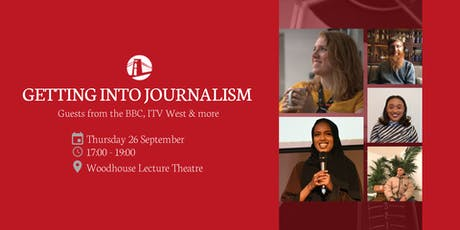 Getting into journalism w/ BBC, ITV West, Bristol 247 and more tickets