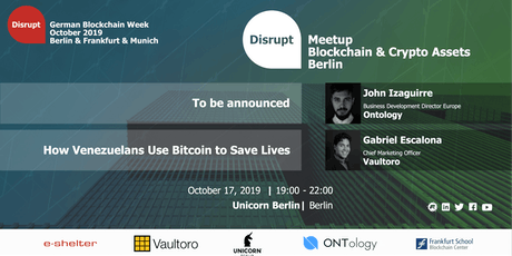 German Blockchain Week 2019 | Digital Assets and Cryptocurrencies tickets