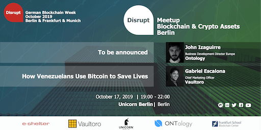 German Blockchain Week 2019 | Digital Assets and Cryptocurrencies