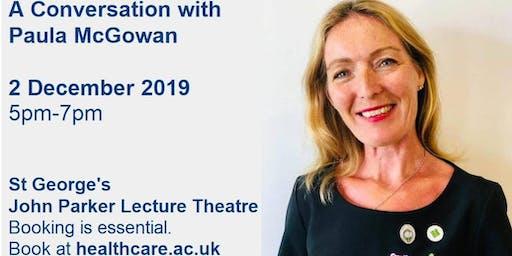 A Conversation with Paula McGowan
