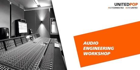 Workshop: Procedura produkcije koncertnega zvoka skupine Laibach tickets