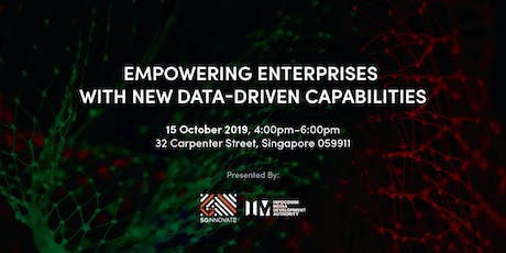 Empowering Enterprises with New Data-Driven Capabilities tickets
