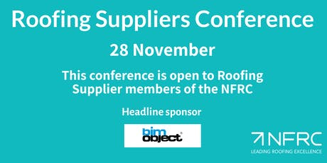 Roofing Suppliers Conference for members of the NFRC tickets