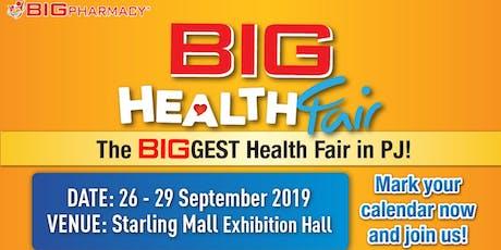 BIG HEALTH FAIR 2019 tickets