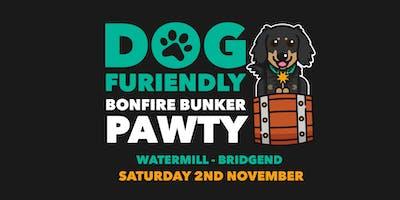 Bonfire Bunker Pawty - Bridgend