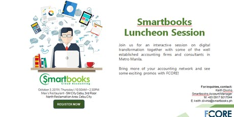 Smartbooks Luncheon Session tickets
