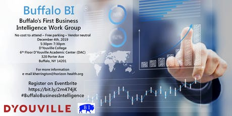 Buffalo Business Intelligence (BI) Work Group tickets