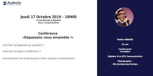 """Conférence """"Se dépasser ensemble"""" par Fabien HERAUD"""