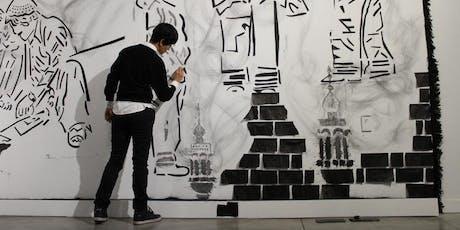 Inaguración exposición de arte Sa'dia Rehman entradas