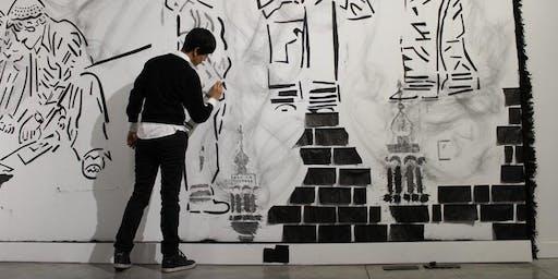 Inaguración exposición de arte Sa'dia Rehman
