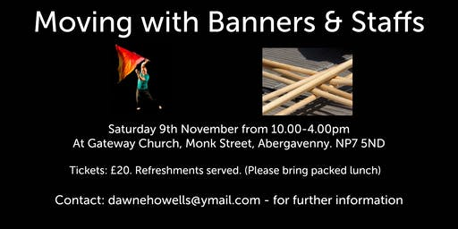 Movement In Worship - Moving With Banners & Staffs