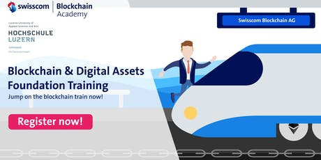 Blockchain and Digital Assets – Foundation Training Tickets