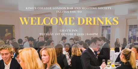 Welcome Drinks at Gray's Inn tickets