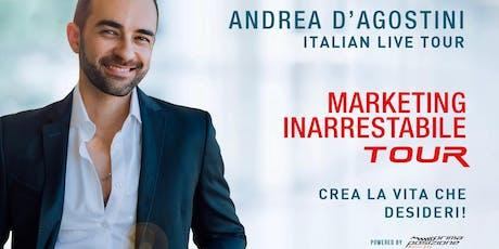 Marketing inarrestabile - Andrea d'Agostini  live tour (Lugano) biglietti