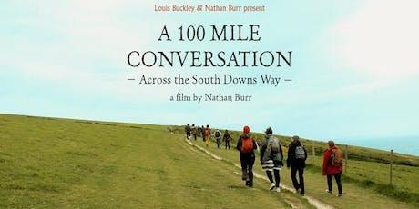 "Grassroots Presents: ""A 100 Mile Conversation"" - Screening & Panel Talk tickets"