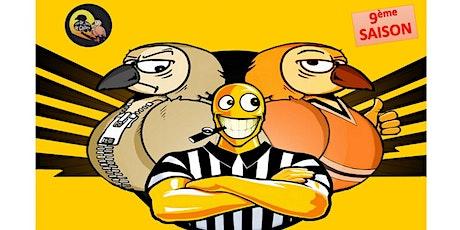 Match d'Impro : Les Drôles de Cailles rencontrent... billets