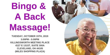 Bingo & A Back Massage tickets