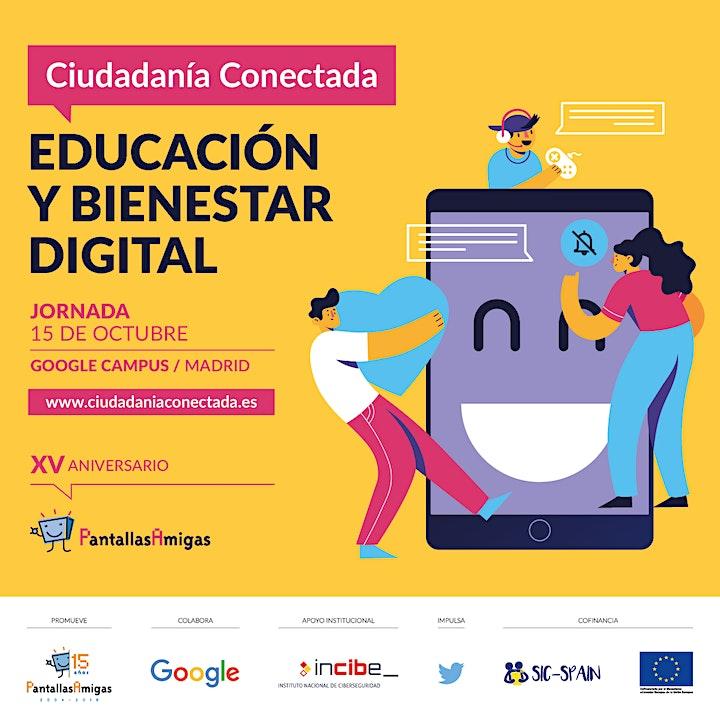 Imagen de Jornada Ciudadanía Conectada 2019, EDUCACIÓN Y BIENESTAR DIGITAL