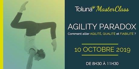 Toluna MasterClass : Agility Paradox tickets