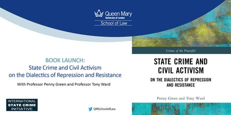 Book Launch: State Crime and Civil Activism tickets
