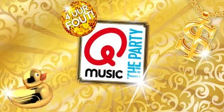 Qmusic The Party - 4uur FOUT! in Nieuwegein (Utrecht) 18-10-2019 tickets