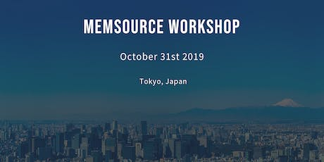 Memsource Workshop tickets