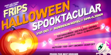 FRIPS Halloween Spooktacular - The Burdekin Hotel tickets