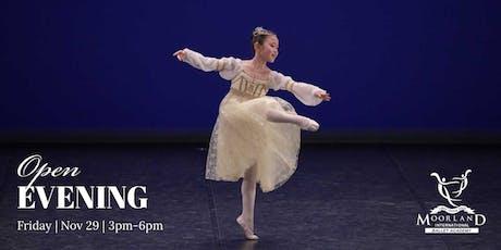Moorland International Ballet Academy Open Day tickets