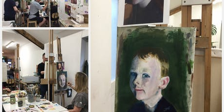 Registration Wednesday Morning Oil Painting 8 Week- Course tickets