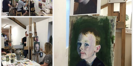 Registration Wednesday Morning Oil Painting 8 Week- Course