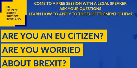 EU Settlement Scheme Information Session in Perth tickets