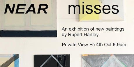 Rupert Hartley Artist Private View tickets