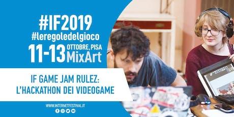 IF Game Jam Rulez [2019] biglietti