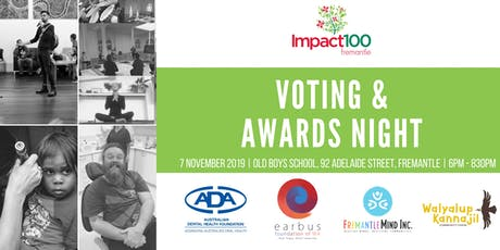 Impact100 Fremantle 2019 Voting & Awards Night tickets
